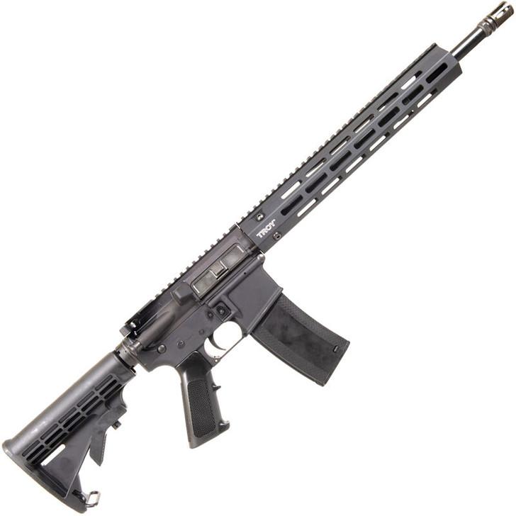 "Troy Industries SPC A3 Optics Ready 5.56 NATO AR-15 Semi Auto Rifle 16"" Barrel 30 Rounds 13"" M-LOK Compatible BattleRail Collapsible Stock Black  SCAR-CA3-16BT-19"