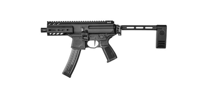 """Sig Sauer MPX 9MM Pistol 4.5"""" 30+1 Rounds M-LOK Handguard PMPX-4B-9"""