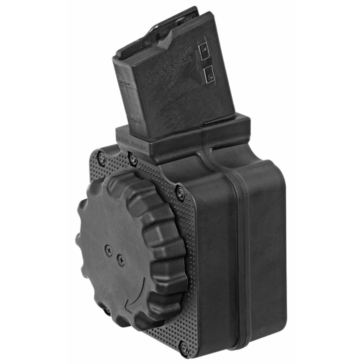 ProMag DPMS LR-308 Drum Magazine .308 Win/7.62 NATO 50 Rounds Polymer Black DRM-A1