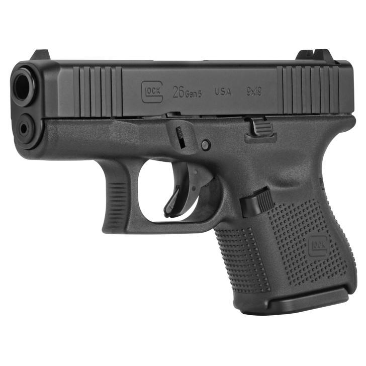 "Glock G26 Gen 5 9MM 10+1 Round Sub-Compact 3.43"" Barrel UA265S201"