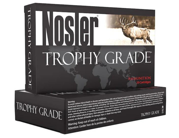 Nosler Trophy Grade 300 Win Mag 180gr Partition Brass Centerfire Ammunition 61056