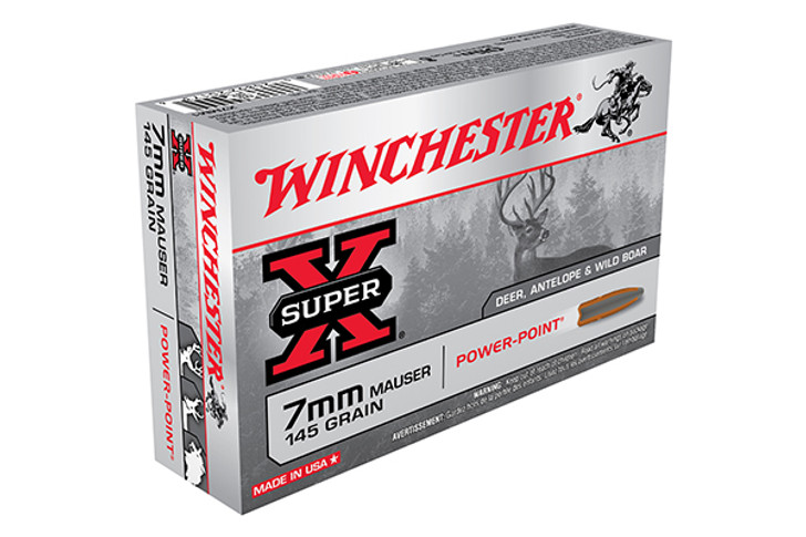 Winchester Super-X 7mm Mauser 145 Grain Power-Point X7MM1