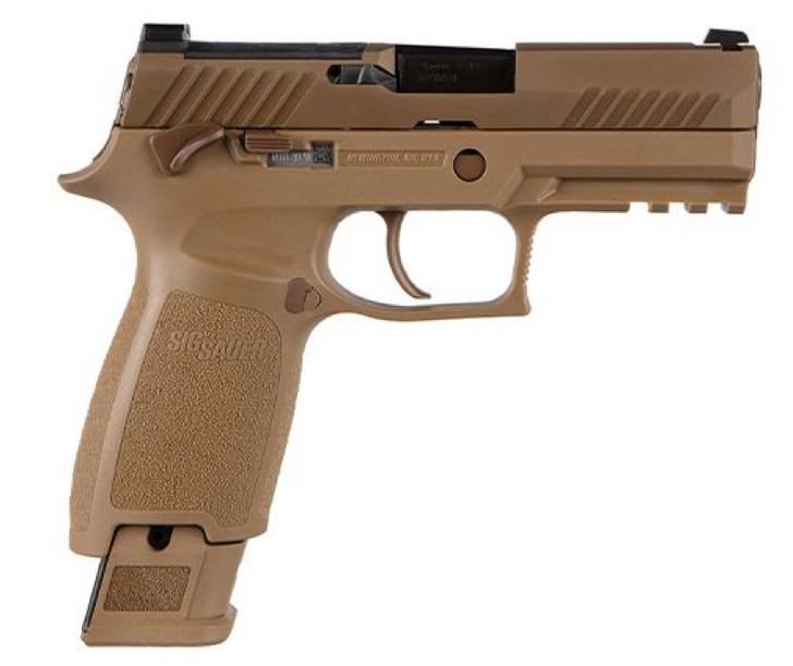 SIG Sauer M18 Commemorative 9mm Pistol Coyote M18-COMMEMORATIVE