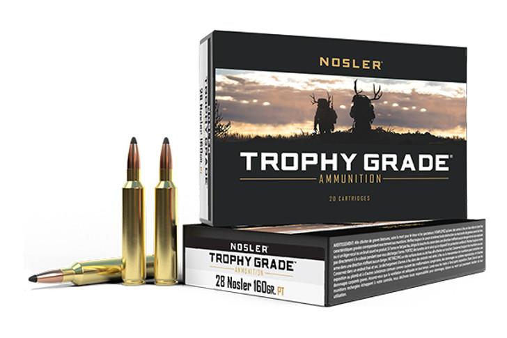 Nosler Trophy Grade 28 Nosler 160GR Partition 61010