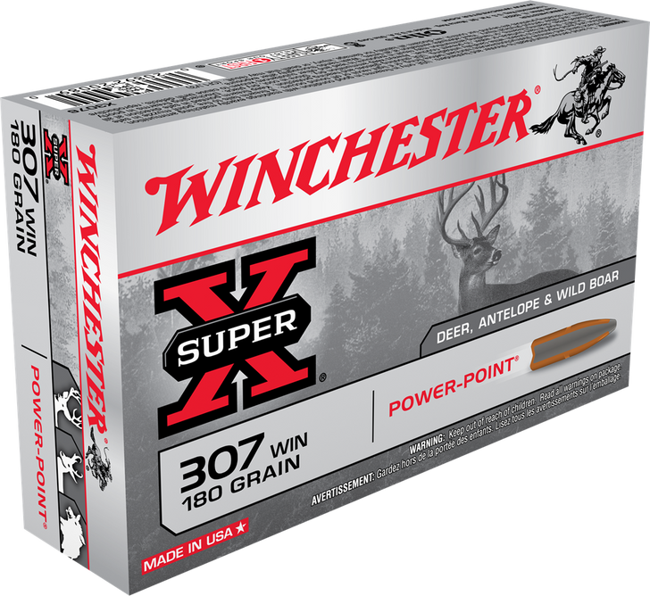 Winchester 307 Winchester 180GR Power-Point X3076