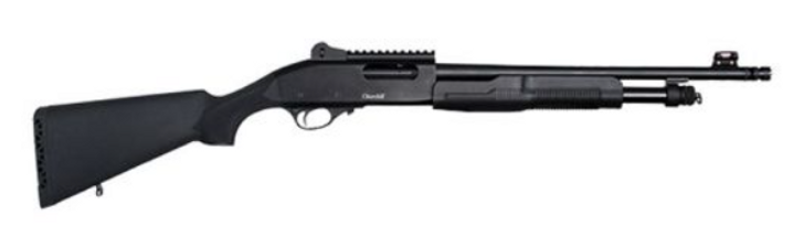 "European American Armory Churchill 620 Tactical 20GA 18.5"" Pump Action Shotgun 111210"