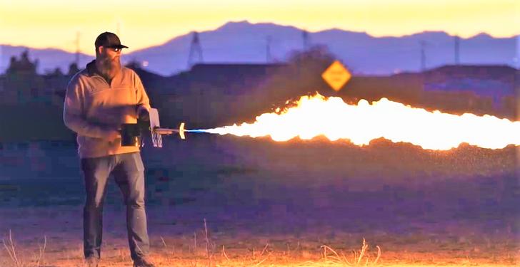 Exothermic Technologies PulesFire Long Range Flamethrower PF-LRT