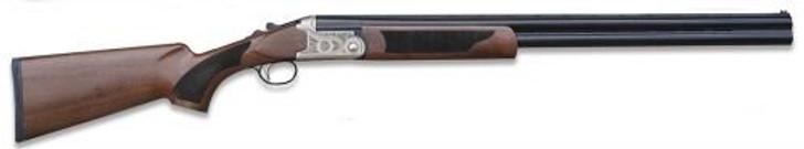 "Pointer Acrius 12GA 28"" Barrel 3"" Chamber Nickel Turkish Walnut Stock 5 Chokes KAR1228"