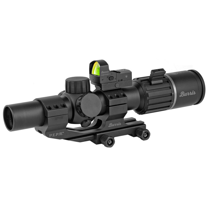 Burris RT6 Rifle Scope 1-6X Power 24 Objective 30MM Illuminated Ballistic AR Reticle FastFire 3 & P.E.P.R. Mount 200475