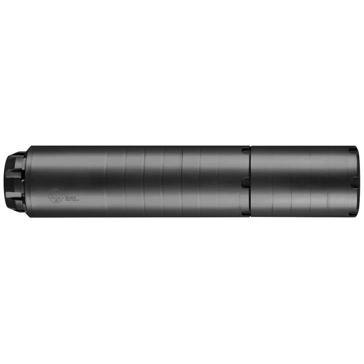 "Dead Air Armament Wolfman Suppressor 9MM No Piston 1.618"" Diameter Black Cerakote Finish Ships with 1/2-28 Direct-Thread Insert WOLFMAN"