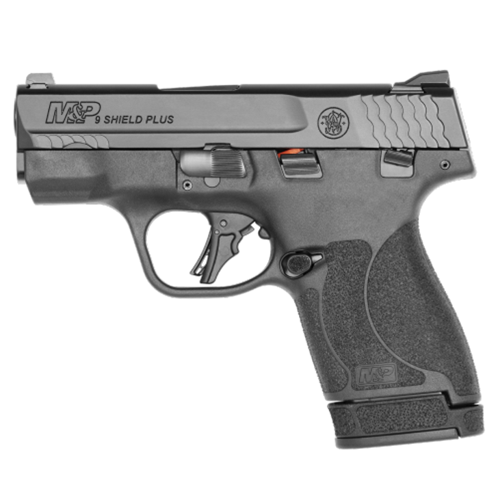 """Smith & Wesson M&P 9 SHIELD PLUS 9MM 3.1"""" Micro-Compact 10+1 13+1 Rounds Manuel Safety 13246"""