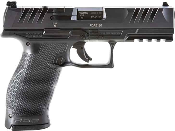 """Walther PDP 9MM 4.5"""" Barrel Full Size 18 Rounds Optics Ready 2842475"""
