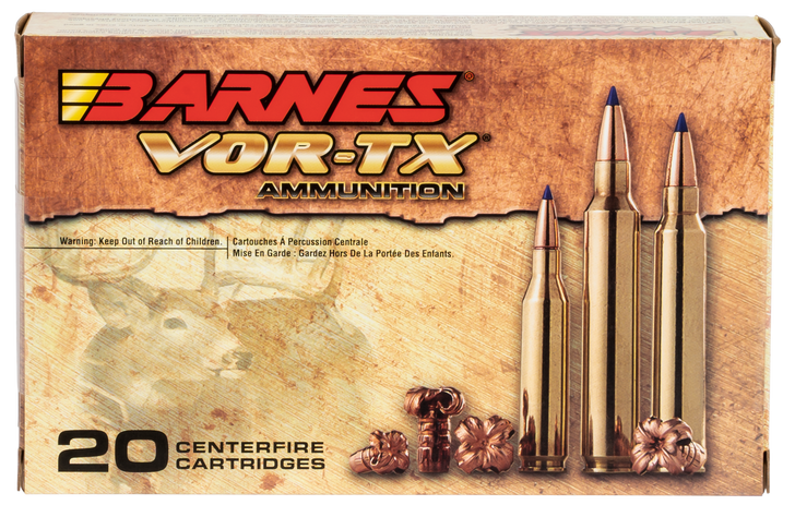 Barnes Bullets 30727 VOR-TX Rifle 338 Lapua Mag 280 gr LRX Boat-Tail 30727