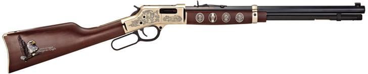 "Henry Eagle Scout Centennial Tribute Edition .44 Magnum/.44 Special 20"" Octagon Barrel H006ES"