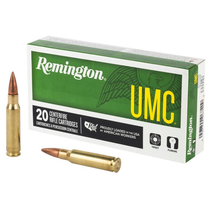 Remington UMC 308 Winchester 150 Grain FMJ 20 Round Box 23715