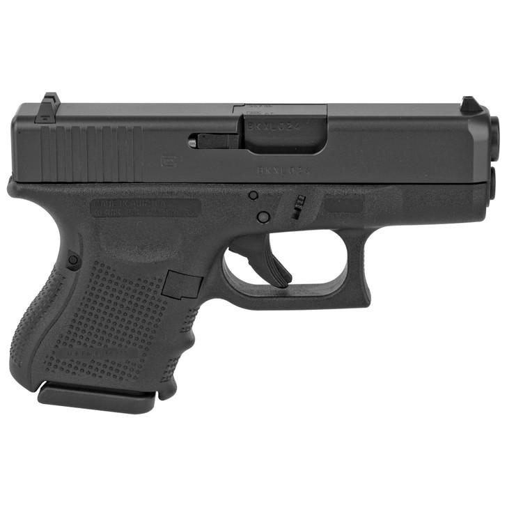 "GLOCK 33 Gen 3 .357 SIG Semi Auto Pistol 3.42"" Barrel 9 Rounds Black PG3350201"