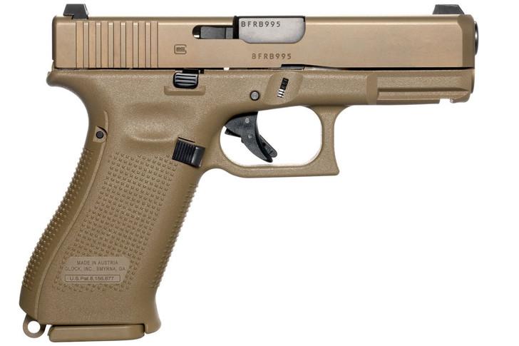 Glock Austria G19X Gen5 9mm FDE 19+1 Rounds PX1950703