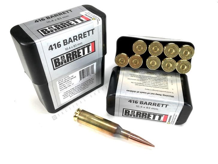 Barrett Ammunition 416 Barrett 10.4x83mm Cutting Edge Bullet 452gr MTAC 17222