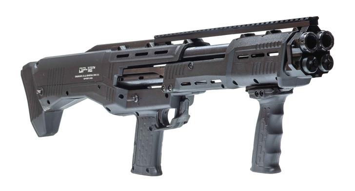 "Standard Manufacturing DP-12 Pump Action 12GA 14+2 Rounds 18.875"" Double Barrel Shotgun DP-12"