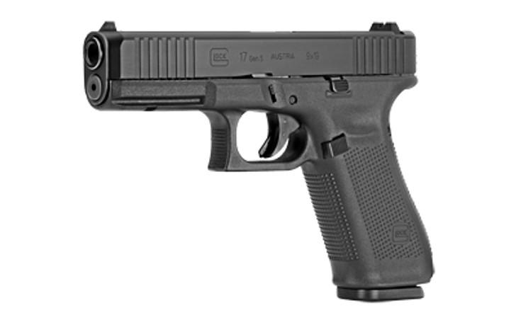 """Glock 17 Gen5 9mm Striker Fired Full Size 4.49"""" Marksman Barrel 17 Round PA175S203"""