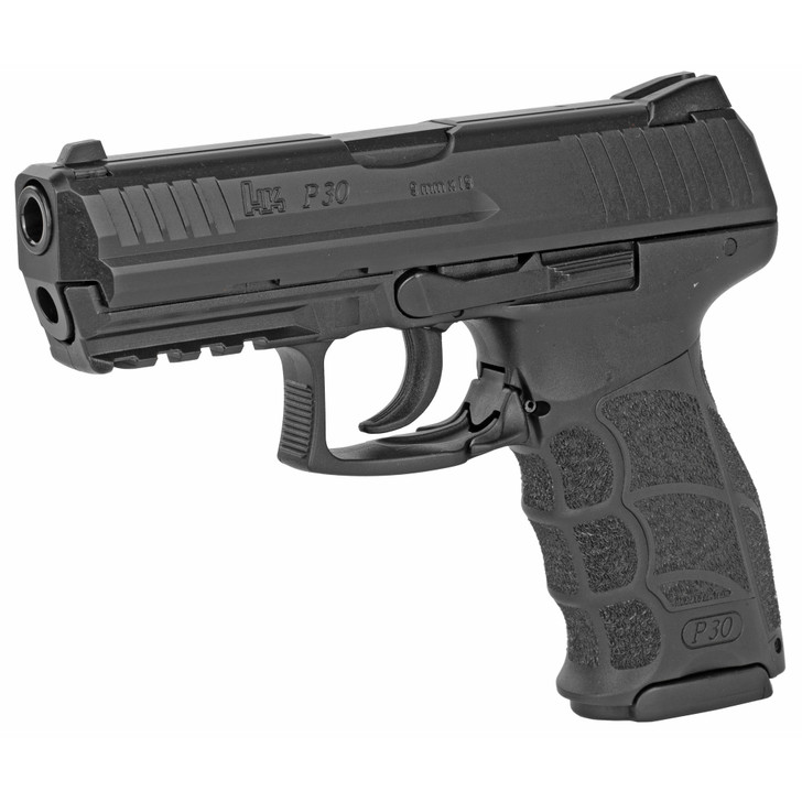 """HK P30 9mm V Light Law Enforcement Modification DAO 3.85"""" Barrel Two 17 Round Mags 81000103"""