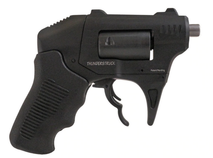 "Standard Manufacturing S333 Thunderstruck 22 WMR 1.25"" Barrel 8 Round Black Polymer Grip SMCGS333"