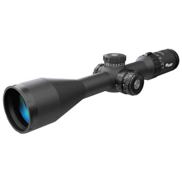 Sig Sauer Electro-Optics Whiskey5 5-25x52mm Illuminated MRAD Milling Hunter Rifle Scope SOW55014