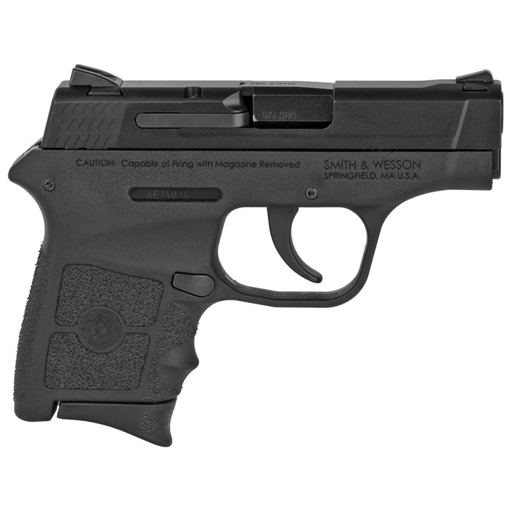 """Smith & Wesson M&P Bodyguard .380 ACP 2.75"""" Barrel 6+1 Rounds Black Polymer Frame Armornite Stainless Steel Slide 109381"""
