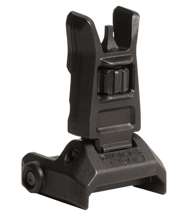 Magpul MBUS Pro AR-15 Backup Flip-Up Front Sight, Steel, Black MAG275