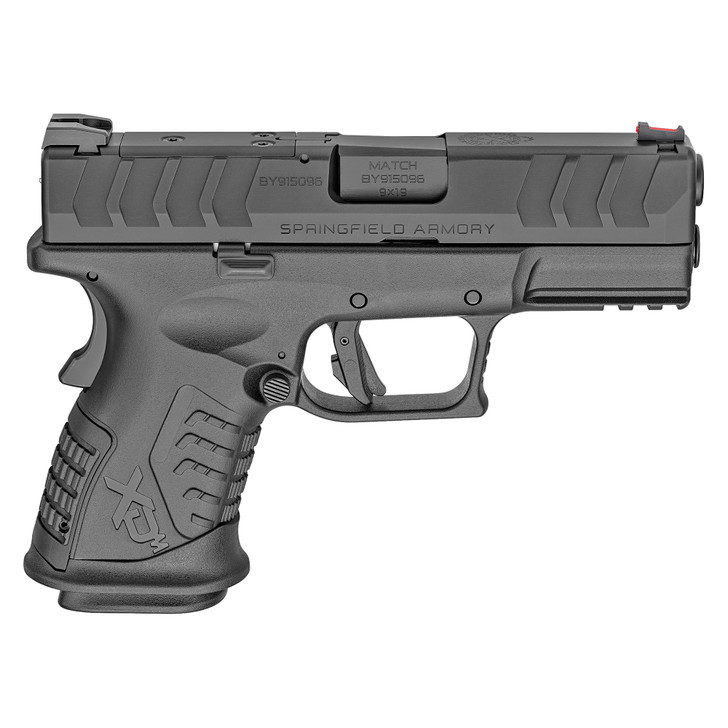 """Springfield XDM Elite Compact OSP Optical Sight Pistol Semi-Auto Striker Fired 9MM 3.8"""" Hammer Forged Steel Barrel Melonite Finish Polymer Frame 14+1 Rounds XDME9389CBHCOSP"""
