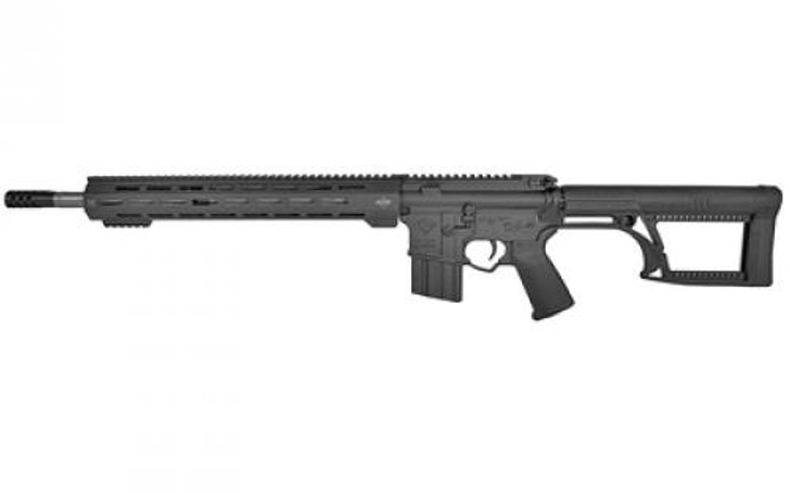 "Alex Pro Firearms Hunter 450 Bushmaster AR-15 Semi-Auto 18"" Barrel Luth-AR MBA-2  Stock Single Stage Mil-Spec Trigger APF Custom Multi-port Muzzle Brake 15.5"" MLOK Handguard 5+1 Rounds RI-077M"