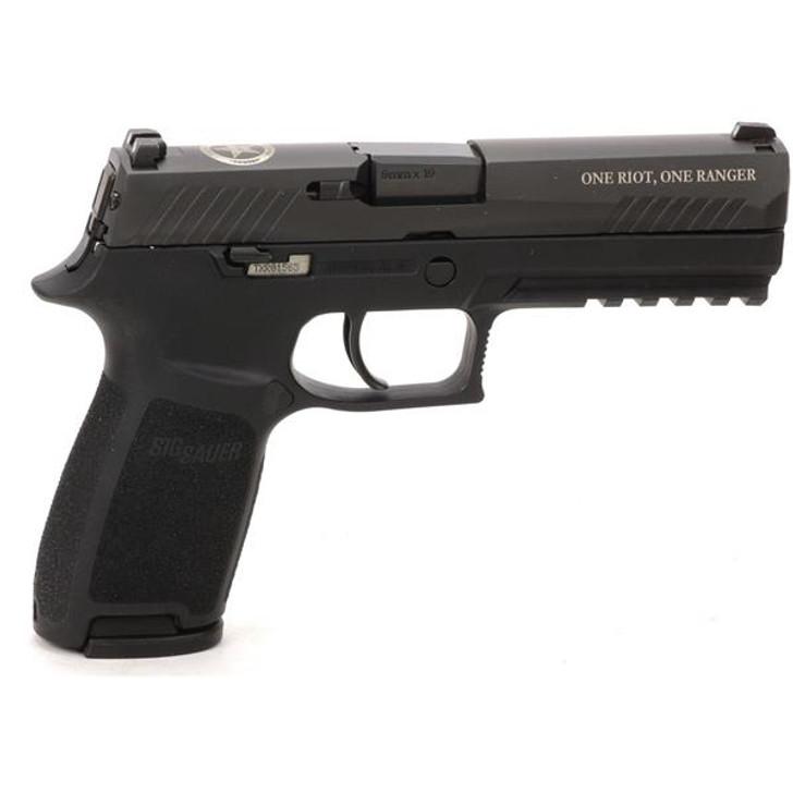 """Sig Sauer P320 Texas Ranger 9mm 4.7"""" Barrel 17+1 Rounds 320F-9-BSS-FTRF"""