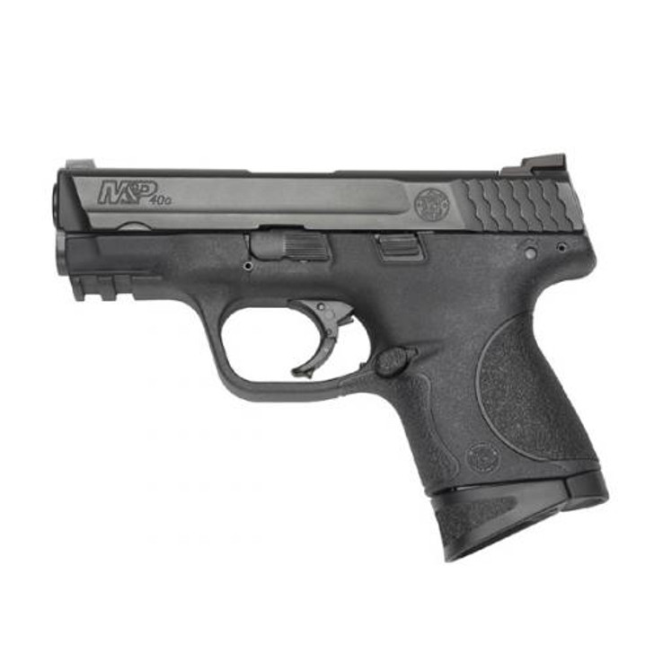 """Smith & Wesson M&P 40 Compact 40 S&W 3.5"""" Barrel 10+1 Rounds Armornite Stainless Steel Black Interchangeable Backstrap Grips 109203"""