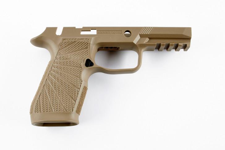 Wilson Combat Sig Sauer WCP320 Grip Module Carry Manual Safety Tan Polymer 320-CMT