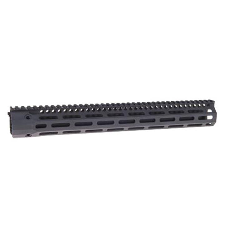 Troy Battlerail SOCC151 M-LOK Rail Black 15.125 inches Low Profile Special Ops Compatible SRAI-SR1-15BT-00