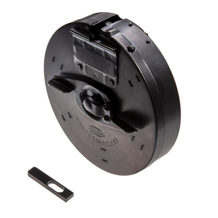 Auto Ordnance Magazine: Thompson: 45 Auto/ACP: 50rd Capacity drum - QTMT13KT