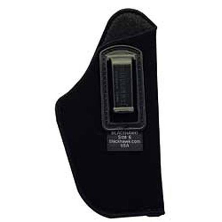 "BLACKHAWK! Inside the Pants Holster for 3"" to 4"" Barrel Medium Frame Autos, Right Hand, Belt Clip, Black 73IP01BK"