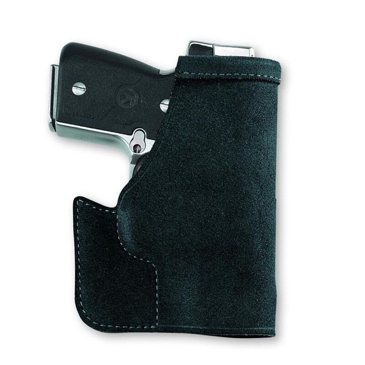Galco Pocket Protector Holster SIG P938 Ambidextrous Center Cut Steer Hide Black PRO664B