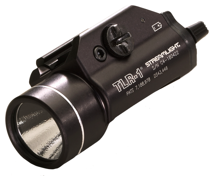 Streamlight TLR-1 Weapon Light White LED Fits Picatinny or Glock-Style Rails Aluminum Matte 69110