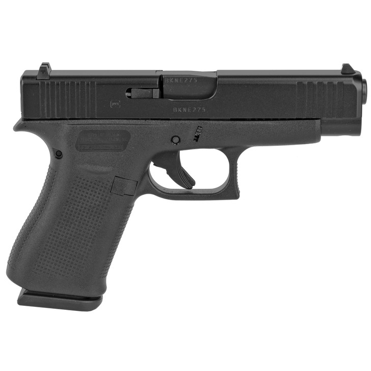 """GLOCK 48 Semi-automatic Striker Fired Sub-Compact 9MM 4.17"""" Black 10Rd 2 Mags Fixed Sights Polymer Matte G48AUT"""