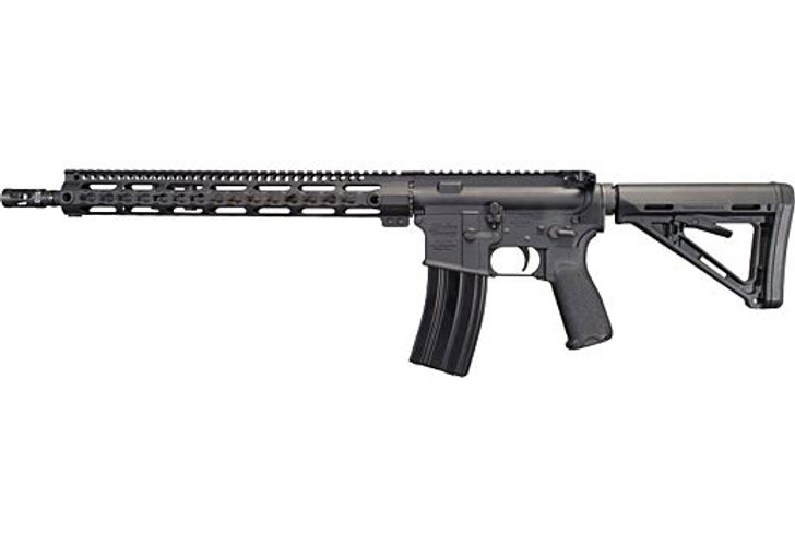 "Windham Weaponry R16MLSFS3G7 Way of the Gun Carbine Semi-Automatic 223 Rem/5.56 NATO 16"" 30+1 Black 6-Position Adjustable Magpul MOE Stock Black Hardcoat Anodized Receiver R16MLSFS3G7"