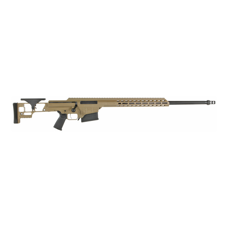 "Barrett Firearms Rifle MRAD 6.5 Creedmoor 24"" Barrel Flat Dark Earth Cerakote 18521"
