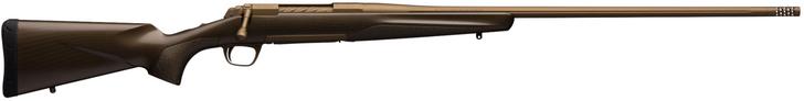 "Browning X-Bolt Pro 6.5 PRC Bolt Action Rifle 24"" Threaded Barrel 4 Rounds Composite Carbon Fiber Stock Burnt Bronze Cerakote Finish 035418294"