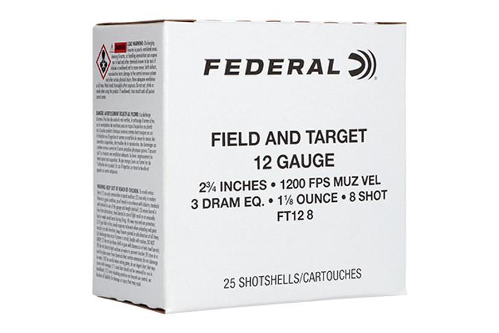 Federal 12-Gauge 1-1/8 oz Shot Shells FT12-8