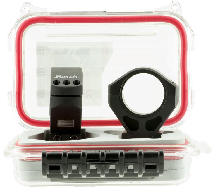 Burris XTR Signature Scope Ring Set Picatinny/Weaver 34mm Matte Black Aluminum 420211