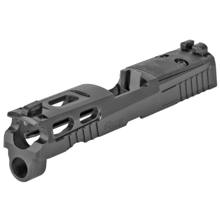 """Sig Sauer 8900172 P320 Compact Pro-cut Slide Assmebly 3.9"""" Barrel Sig P320 9mm Luger Black Stainless Steel Optic Ready 8900172"""