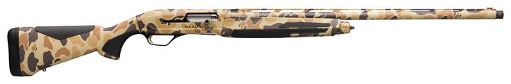 "Browning Maxus II Vintage Tan Camo 4 RD 12 Gauge 28"" Shotgun 011740204"