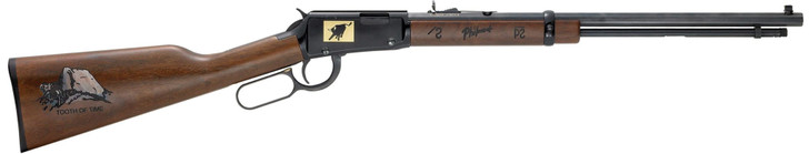 """Henry Repeating Arms Special Edition Philmont Scout Ranch Lever Action Rifle .22 Caliber 20"""" Octagon Barrel Up to 21 Rounds American Walnut Stock Blue Barrel H001TPM"""