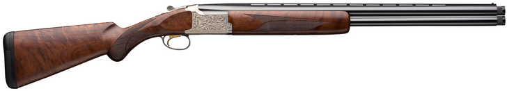 """Browning Citori Feather Lightning 12 Gauge Over Under Break Action Shotgun 28"""" Vent Rib Barrels 3"""" Chamber 2 Rounds Walnut Stock Silver Receiver with Blued Barrel Finish 018163304"""