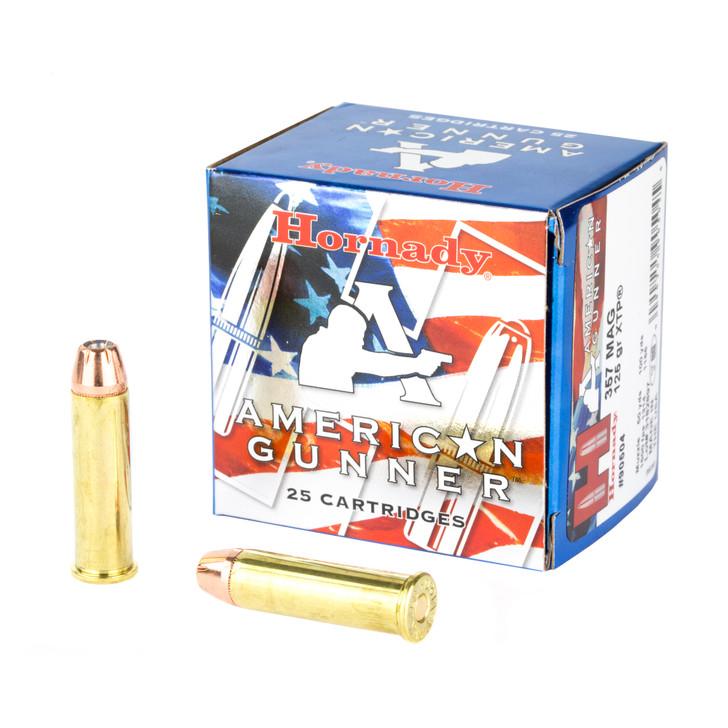 Hornady American Gunner 357 Mag 125 GR XTP JHP 25 Rounds 90504